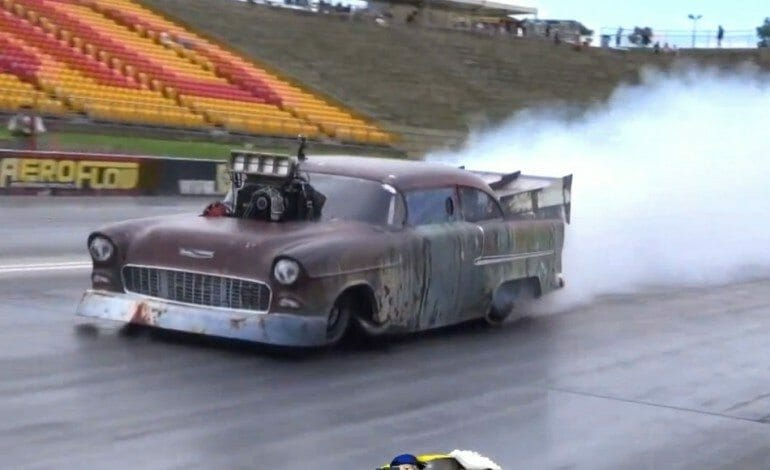 3000BHP Chevy Destroyes Quarter-Mile in 6.41 Seconds At 187mph