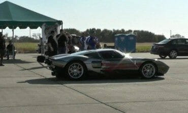 A 278mph Ford GT Sets A New Texas Mile Record