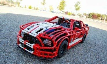 Ford Mustang Shelby GT500 In LEGO, Skill Level - JEDI