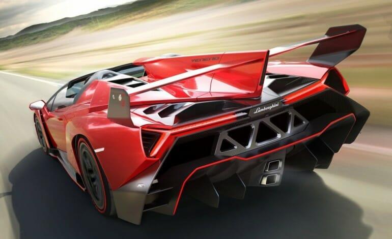 Full Specs on the $5.3M Lamborghini Veneno Roadster