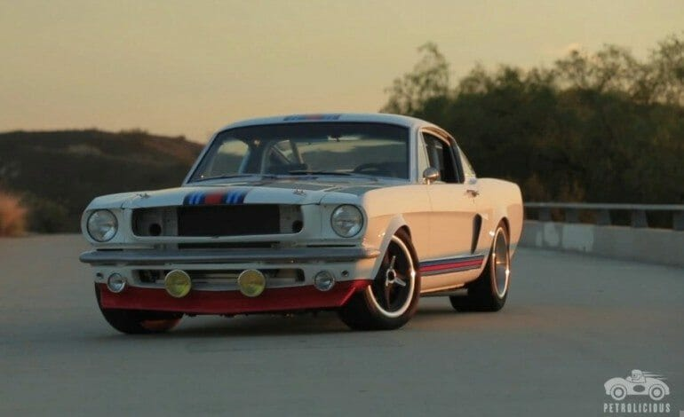 The Martini Mustang is Loud & Fast Art – Petrolicious