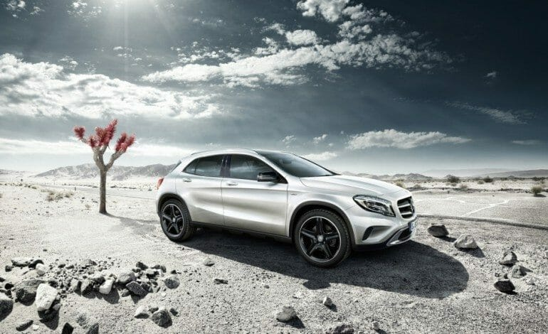 Mercedes-Benz GLA to launch with Edition 1