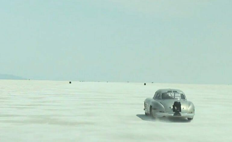 Salt Fever 300SL Gullwing at Bonneville – Petrolicious