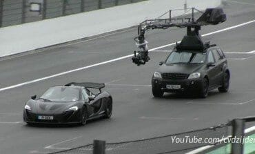 Top Gear Film McLaren P1 at Spa