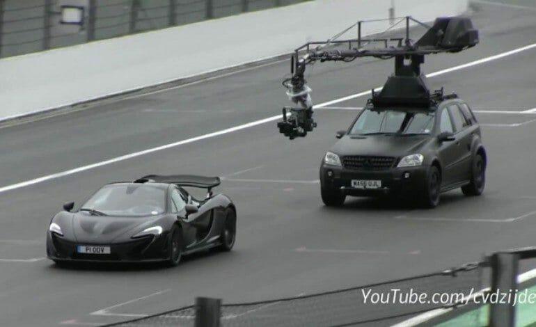 Top Gear Film McLaren P1 at Spa