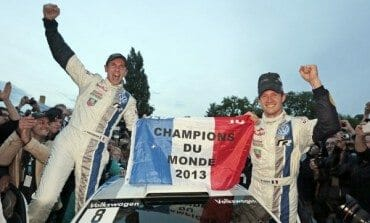 Ogier Clinches World Rally Championship in France