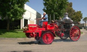 Jay Leno Plays With His 1914 Christie Fire Engine - Jay Leno's Garage
