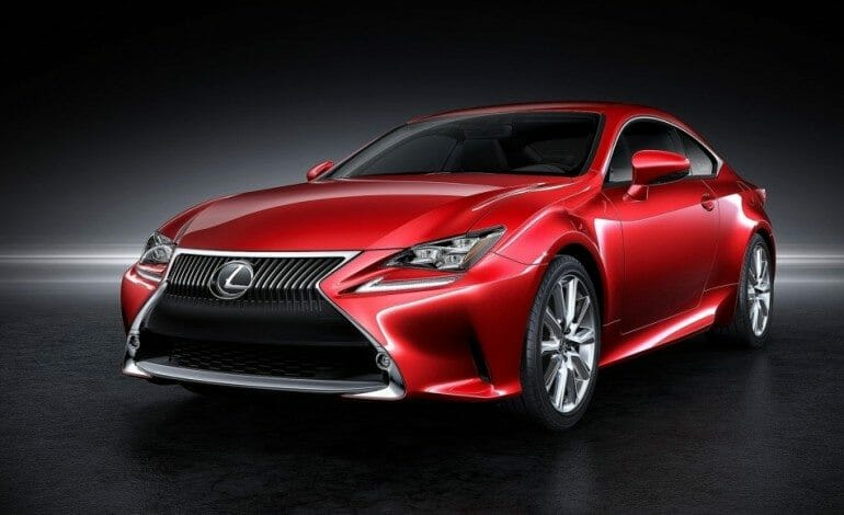Lexus Debut the RC Coupe in Tokyo