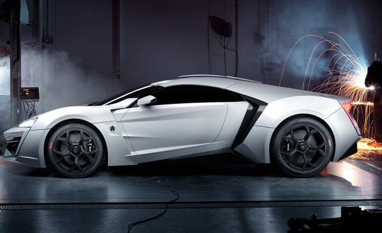 W Motors Debuts its Lykan Supercars at Qatar Motor Show