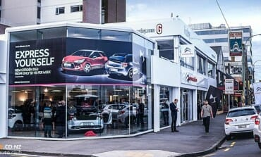 Citroen's New Home in Wellington