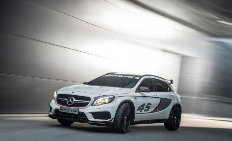 Concept GLA45 AMG – Mercedes-Benz SUV