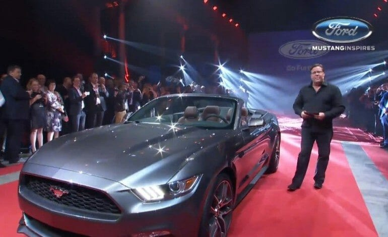 The New Ford Mustang Global Premiered in Sydney
