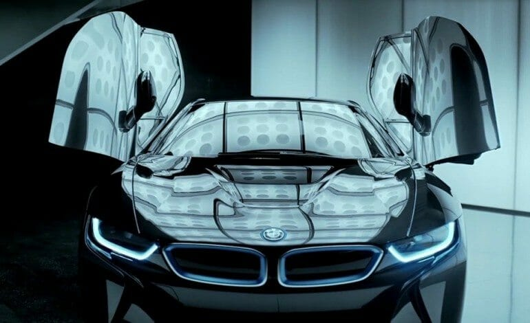 Form Follows Function In BMW's i8 Design