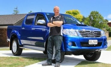 Hilux dream comes true for Manawatu winner