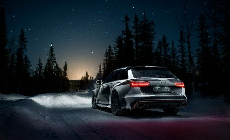 Jon Olsoon S New Winter Mobile Audi Rs6 Drivelife