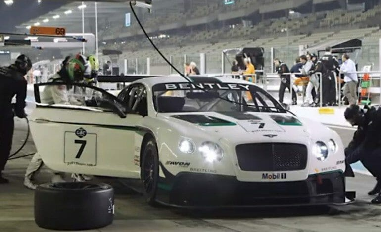 Bentley Returns To The Track