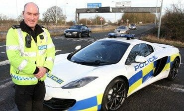 Brits Fastest Cop Now Rolls In A McLaren MP4-12C