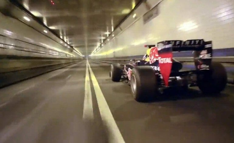 Red Bull Goes For The Ultimate Tunnel Run