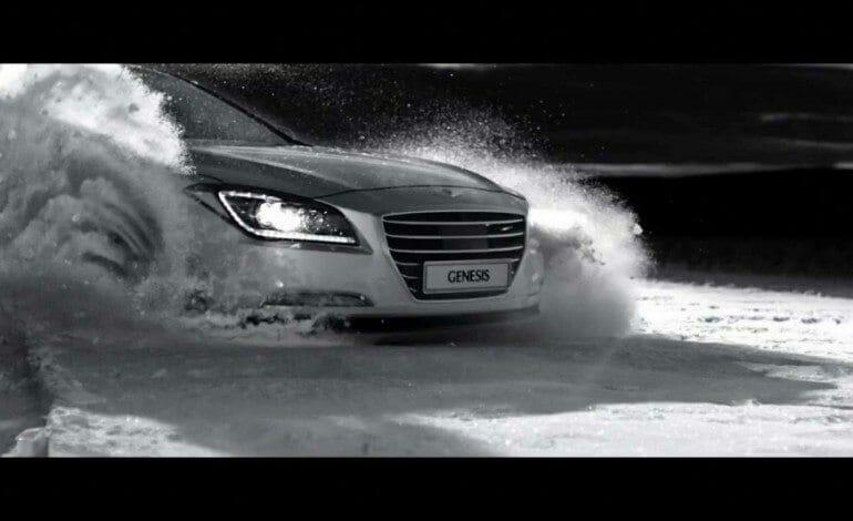 2014 Hyundai-Genesis HTRAC 4WD tv ad
