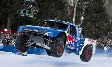Polar Vortex Trophy truck racing