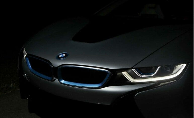 BMW lead the way with lasers.