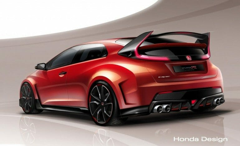 Honda Civic R Concept Unveiled
