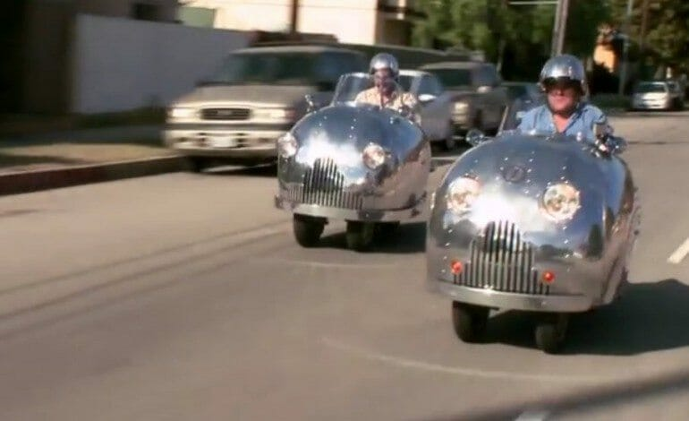 Randy Grubb's Crazy Decopods On Jay Leno's Garage