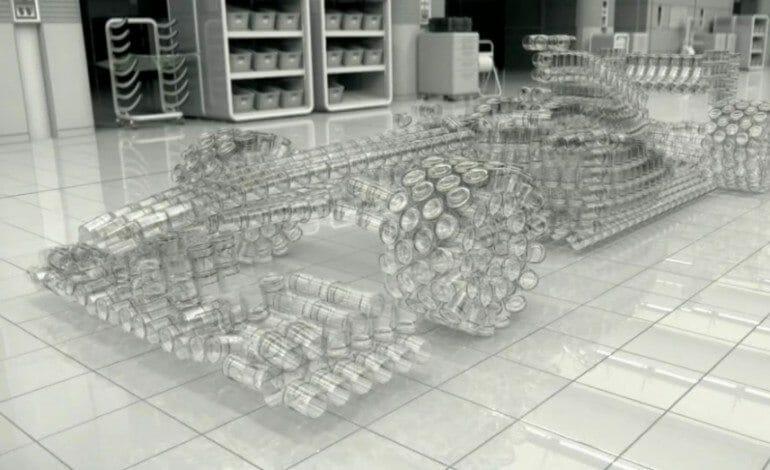 Johnnie Walker Develops The Glass Car