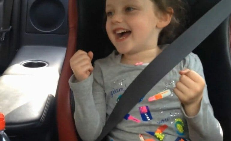 Super Cute Kid, Acts How We All Feel About SuperCars
