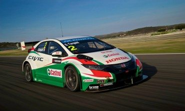 Castrol Honda Civic WTCC- Winter Testing in Valencia #LoveRacing