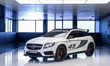 Mercedes-Benz GLA 45 AMG - Release Mid 2014