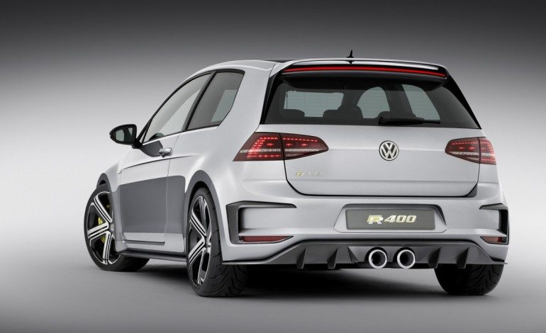 Volkswagen reveals Super Hatch Golf R400 at Beijing Auto Show 2014