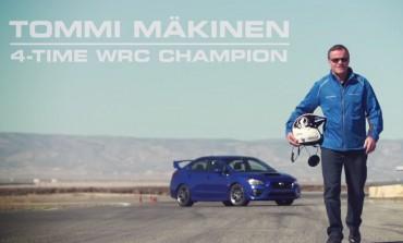 Tommi Mäkinen + 2015 Subaru WRX STI + Track = Awesome
