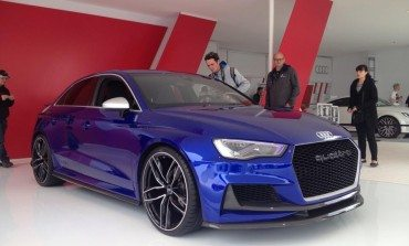 Audi A3 Clubsport Quattro Concept Video Teaser