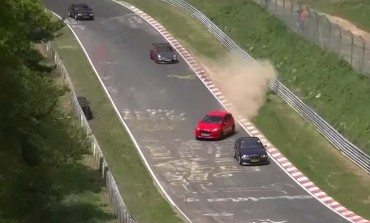 Ford Fiesta ST's Amazing Save For The Win At Nürburgring