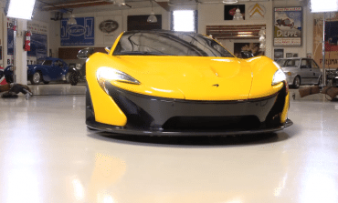 Jay Leno picks up his McLaren P1