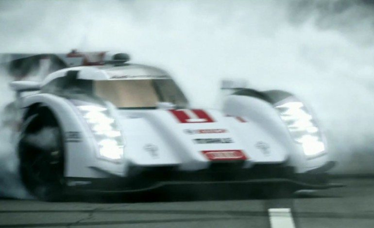 Audi Welcome Back Porsche To LeMans With Burnouts