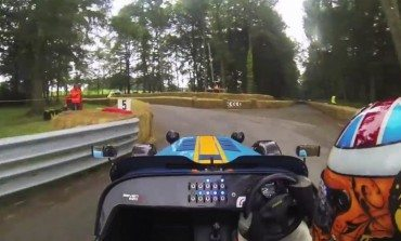 Intense Footage Of A Caterham 620R Hot Lap At The Cholmondeley Pageant Of Power