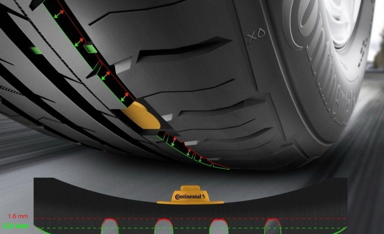 Continental Working on Integrated Tyre Tread Depth Monitoring System