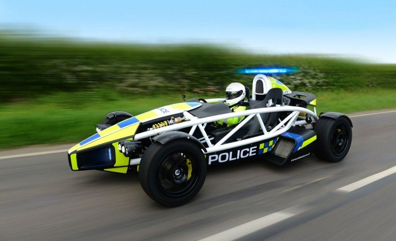 Ariel Atom Police Car – There's No Escape For Speeders Now!