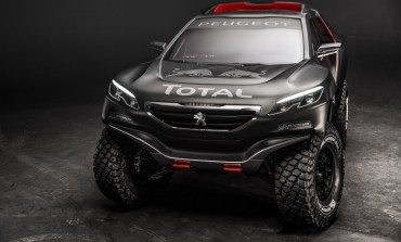 2015 Dakar racer - The Peugeot 2008 DKR