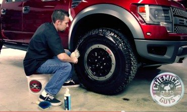 Trouble cleaning your massive off road tyres?