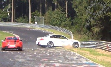 BMW M5 Ring Taxi Crashes at Nordschleife