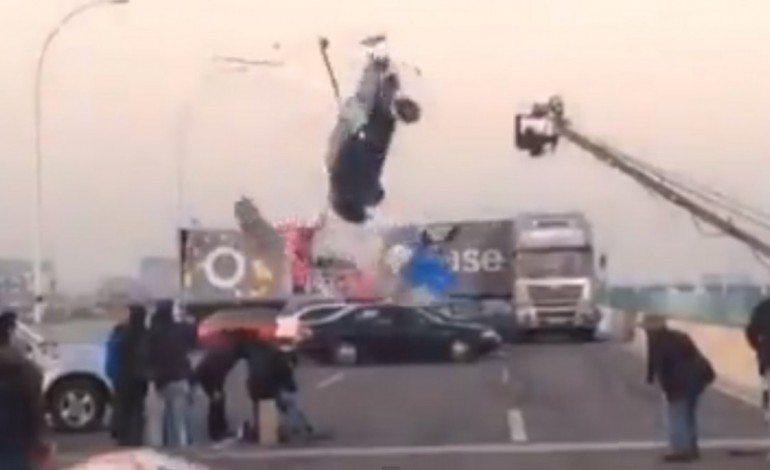 Massive Onset Film Set Safety Fail Nearly Kills Film Crew