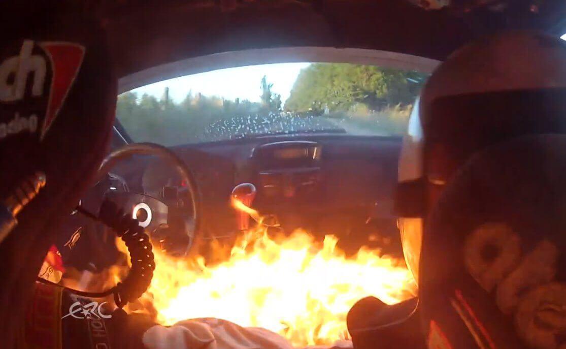 FIA-Geko-Ypres-Rally-Fire
