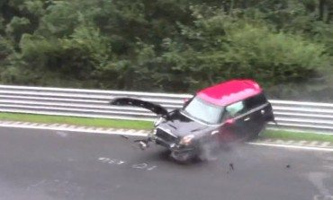 Hard Hit For Mini Driver At Nordschleife Nürburgring