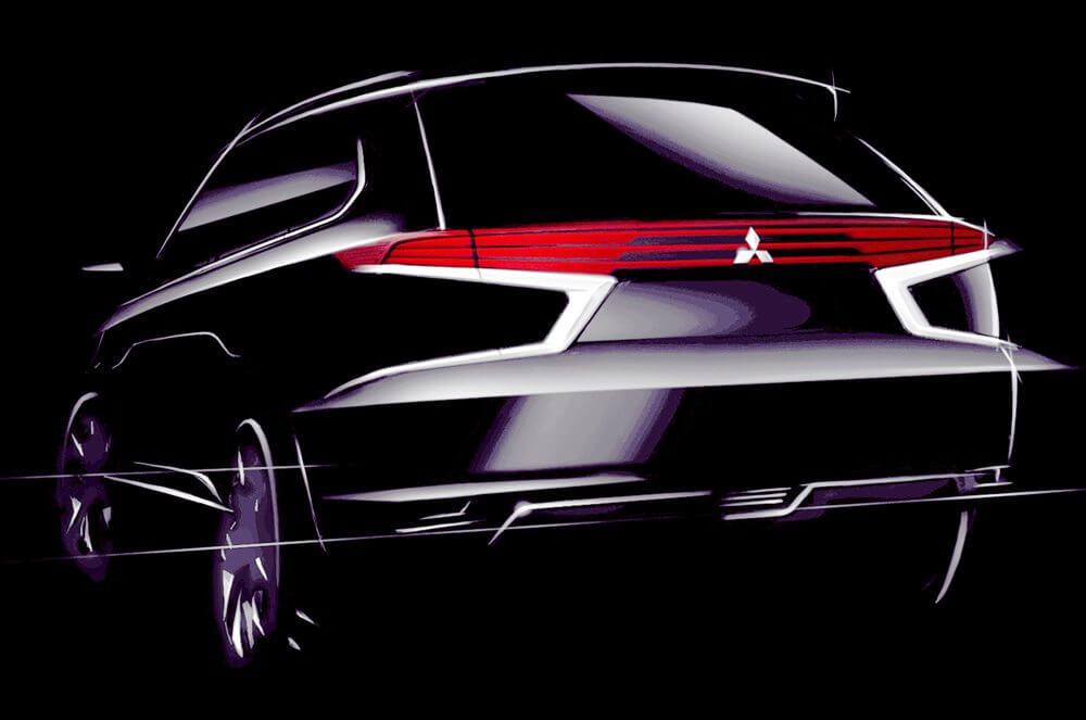 Mitsubishi Outlander-PHEV-Concept-S-Back