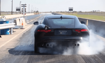 Hennessey got their hands on an F-Type... Sit back and listen