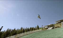 Crazy Motocross Jumps 374 feet and 185 high, Its Kinda Nuts