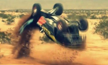 OffRoad Racer Flips It and Just Keeps On Trucking, Full Respect.
